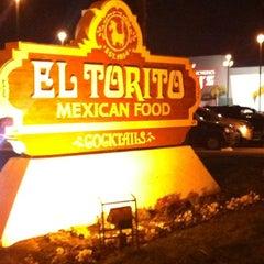 Photo taken at El Torito by Theron X. on 2/19/2012
