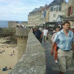 Photo taken at Intra-Muros – Centre de Saint-Malo by Daniel N. on 8/12/2012