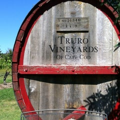 Photo taken at Truro Vineyards of Cape Cod by Dwight F. on 6/15/2012