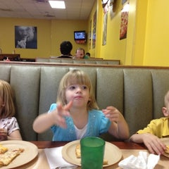 Photo taken at Cicis by Jennifer W. on 2/3/2012