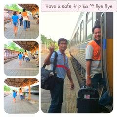 Photo taken at สถานีรถไฟสุราษฎร์ธานี (Surat Thani) SRT4239 by Fee C. on 7/1/2012