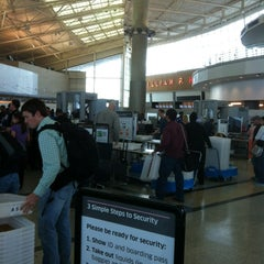 Photo taken at TSA Security Checkpoint by Paul S. on 5/25/2012