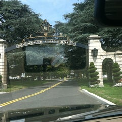 Photo taken at Monmouth University by Courtney B. on 8/22/2012
