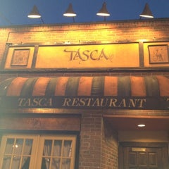 Photo taken at Tasca Spanish Tapas Restaurant & Bar by Diana W. on 4/13/2012