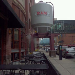 Photo taken at Ram Restaurant & Brewery by Chuck L. on 5/4/2012