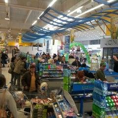 Photo taken at Albert hypermarket by Zavis J. on 4/7/2012