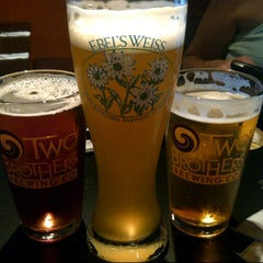 Photo taken at Two Brothers Tap House by Adam S. on 6/30/2012