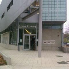Photo taken at DC Public Library - Watha T. Daniel/Shaw by Orlando D. on 3/24/2012