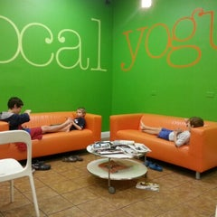 Photo taken at Local Yogurt by Carina M. on 9/8/2012