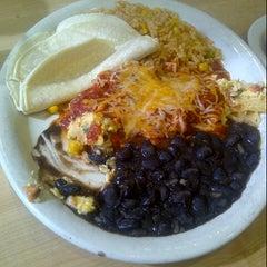 Photo taken at Kerbey Lane Café by Darrin E. on 9/1/2012