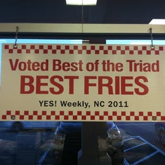 Photo taken at Five Guys by Charles w. on 2/25/2012