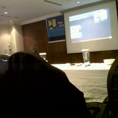 Photo taken at NOVITA HOTEL-meeting room by Paskahliss O. on 2/28/2012