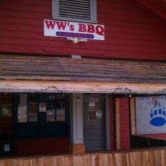 Photo taken at WW's Gourmet BBQ by S'ade G. on 4/20/2012