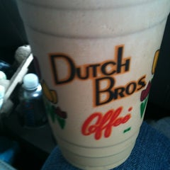 Photo taken at Dutch Bros. Coffee by Jessica on 7/28/2012