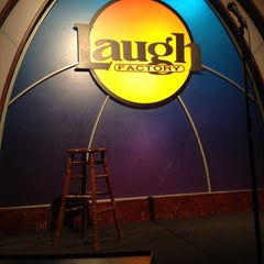 Photo taken at Laugh Factory by Ashley V. on 5/10/2012