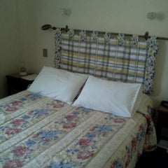 Photo taken at Hotel Turismo Santiago by Pía A. on 4/2/2012