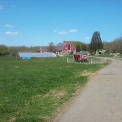 Photo taken at Weir River Farm by Feriel B. on 4/29/2012