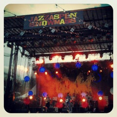 Photo taken at JazzAspen Labor Day Music Festival 2011 by Jeff F. on 9/2/2012
