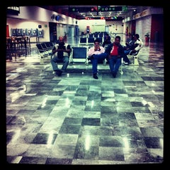 Photo taken at Aeropuerto Manuel Márquez de León (LAP) by David O. on 3/13/2012
