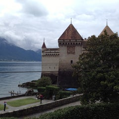 Photo taken at Château de Chillon by Laura on 8/31/2012