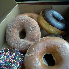 Photo taken at Top Pot Doughnuts by Michael E. on 4/18/2012