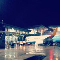 Photo taken at Rajiv Gandhi International Airport (HYD) by Yagnik K. on 6/18/2012