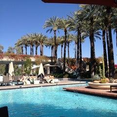Photo taken at Hyatt Regency Scottsdale Resort and Spa at Gainey Ranch by Brandee N. on 3/21/2012