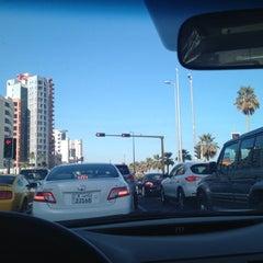 Photo taken at تقاطع البلاجات وشارع المطاعم by ALI .. on 3/4/2012