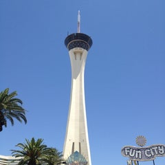 Photo taken at Stratosphere Casino, Hotel & Tower by Simon J. on 6/1/2012