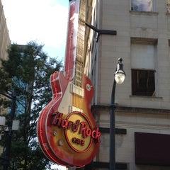 Photo taken at Hard Rock Cafe Atlanta by Renee T. on 5/23/2012