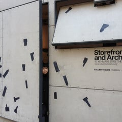 Photo taken at Storefront for Art and Architecture by Johan S. on 3/8/2012