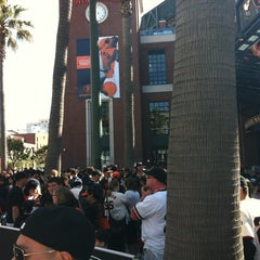 Photo taken at Willie Mays Gate by Nate E. on 5/20/2012