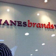 Photo taken at Hanesbrands by Waldir P. on 5/25/2012