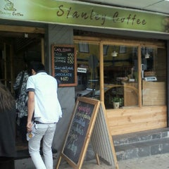 Photo taken at Stanley Coffee by Iván G. on 4/3/2012