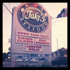 Photo taken at Jake's Seafood Restaurant by Jake R. on 6/30/2012