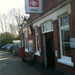 Photo taken at Solihull Railway Station (SOL) by Jamie H. on 3/1/2012