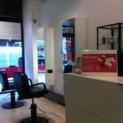 Photo taken at Yuva Threading Salon by Marian E. on 6/13/2012