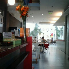 Photo taken at America del Sur Hostel by Gustavo B. on 9/2/2012