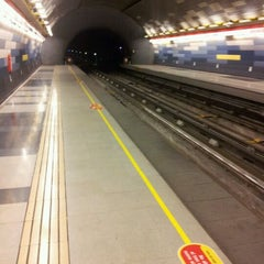 Photo taken at Metro Hernando de Magallanes by Cristian B. on 5/5/2012