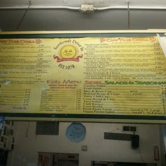Photo taken at Sunflower Natural Foods Drive-In by Paty G. on 6/28/2012
