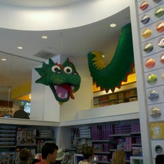 Photo taken at The LEGO Store by Vinnie B. on 8/25/2012
