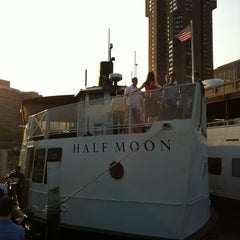 Photo taken at Half Moon Party Boat by Arnab M. on 6/21/2012