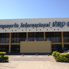 Photo taken at Aeropuerto Internacional Viru Viru (VVI) by Rodrigo on 7/31/2012