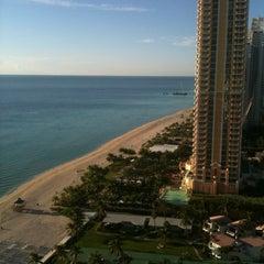 Photo taken at Trump International Beach Resort by Ponochka on 9/8/2012