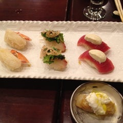 Photo taken at Sushi of Gari by Bonnie C. on 6/18/2012