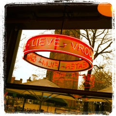 Photo taken at Theater Film Cafe De Lieve Vrouw by Wouter K. on 4/20/2012