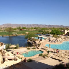 Photo taken at Sheraton Wild Horse Pass Resort & Spa by Barry G. on 4/1/2012