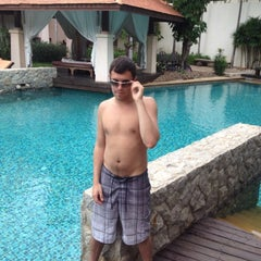 Photo taken at Swimming Pool by Nong R. on 7/15/2012