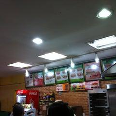 Photo taken at Subway by Marcos Minoru H. on 9/7/2012