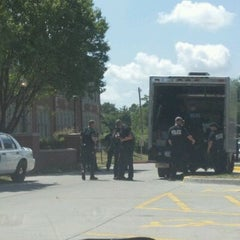 Photo taken at Theodore Roosevelt High School by David S. on 7/27/2012